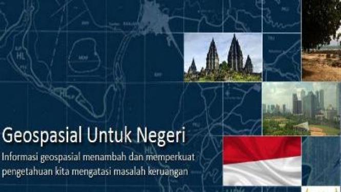 Geospasial online yang bernama Ina-Geoportal
