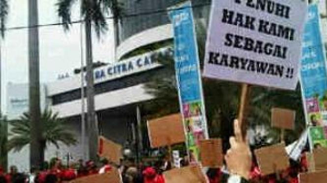 Demo Karyawan Telkomsel
