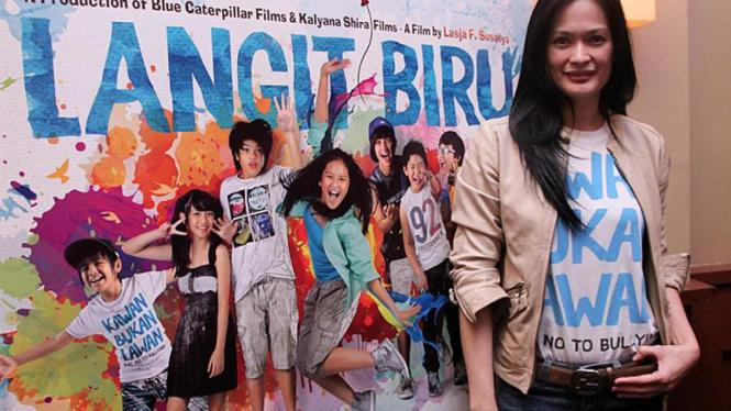 Donna Harun Jumpa Pers Film Musikal Langit Biru