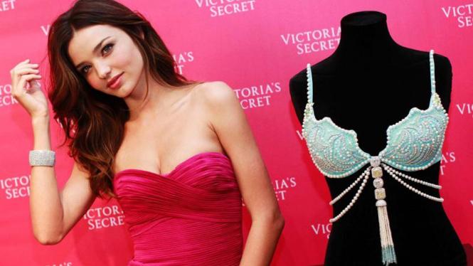 Fantasy Treasure Bra produksi Victorias Secret