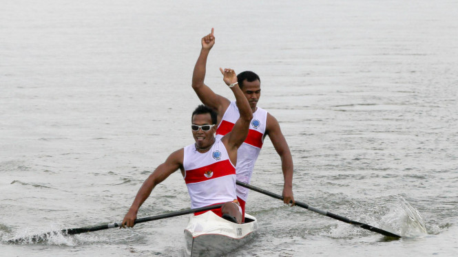 Tim Nasional Dayung Indonesia Di Sea Games 2011