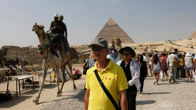 Kompleks Piramida Agung Giza di Mesir