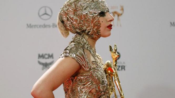 Lady Gaga raih Bambi Awards