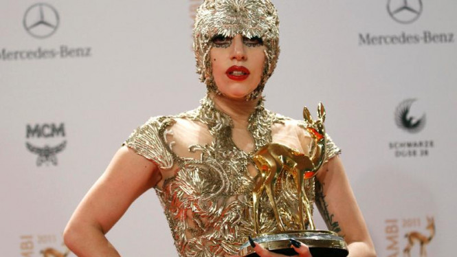 Lady Gaga raih Bambi Awards