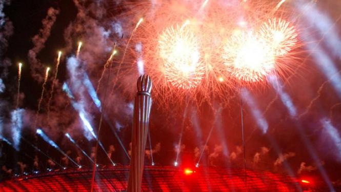 Pembukaan SEA Games XXVI di Palembang