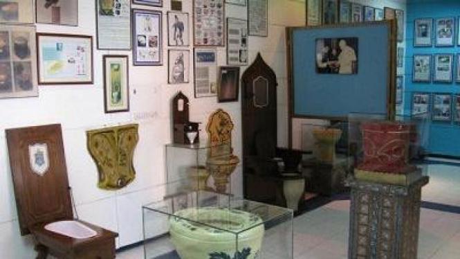 Sulabh International Toilet Museum, di India