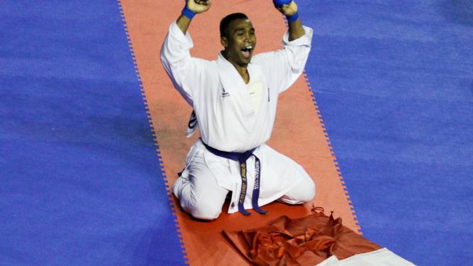 Umar Syarief Di Sea Games XXVI 2011