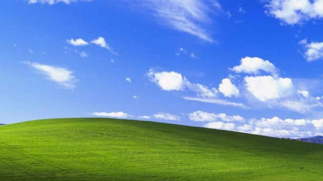 "Wallpaper ""Bliss"" di Windows XP"