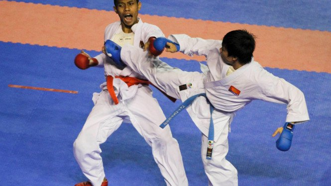 Tim Nasional Karate Sumbang 3 Emas Di Sea Games XXVI