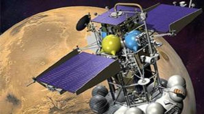 Phobos-Grunt, satelit milik Russia yang rusak di orbit Bumi