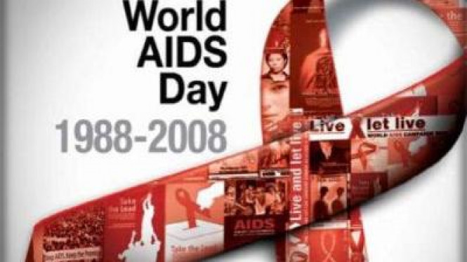 Logo World HIV AIDS Day