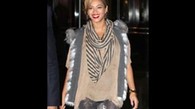 Beyonce tutupi kehamilan