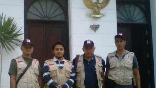 Tim Insinyur MER-C tiba di Kairo