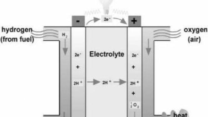 Skema ekstrasi Hidrogen
