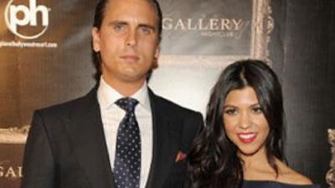 Kourtney Kardashian dan Scott Disick