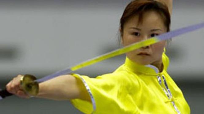 Atlet Wushu China