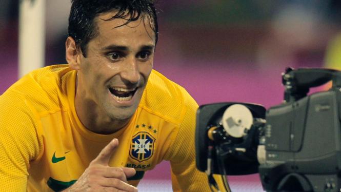 Pemain Brasil Jonas Oliviera