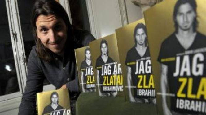 Buku biografi Jag Ar Zlatan dari Zlatan Ibrahimovic