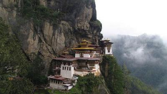 Biara Taktsang, di Bhutan