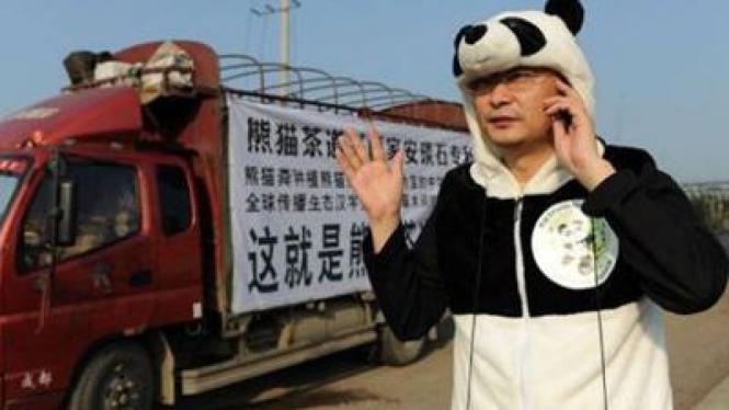 Perintis teh termahal di dunia dari kotoran panda