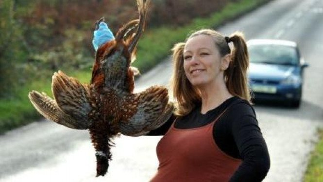 Alison Brierley mengidam daging burung hantu