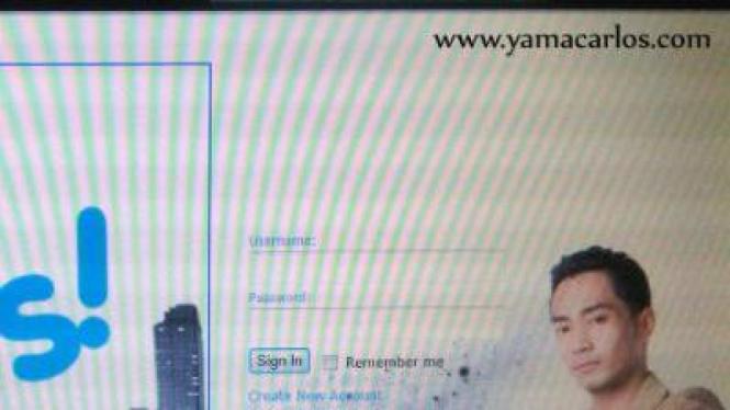 Website Yama Carlos
