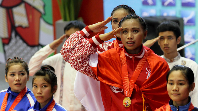 Tim Nasional Vovinam Indonesia Di Sea Games XXVI 2011