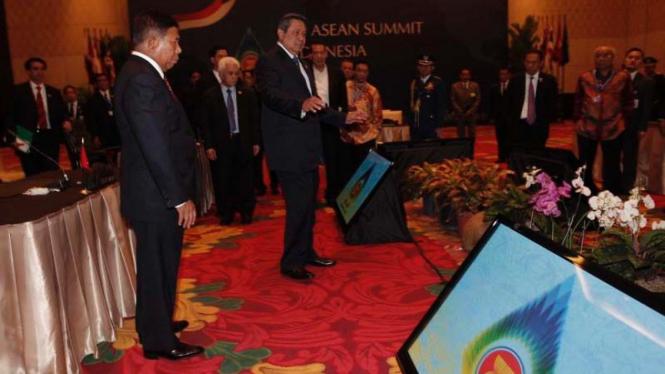 Presiden Tinjau Lokasi KTT Asean