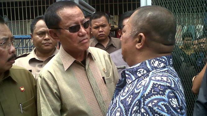 Menkumham Amir Syamsuddin dan Syamsul Arifin