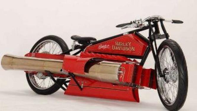 Harley Davidson bermesin jet