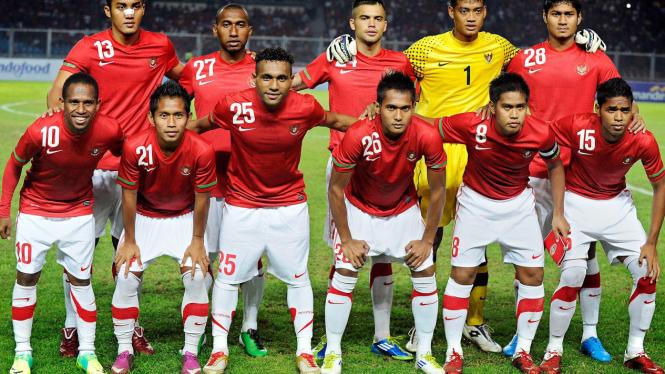 Timnas Indonesia U-23 saat tampil di SEA Games