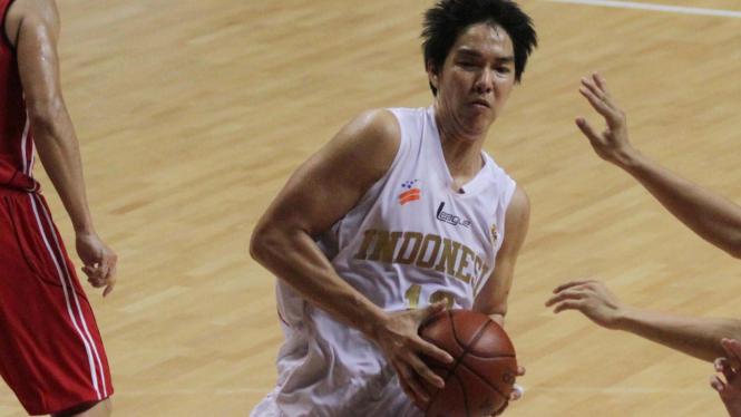 Tim Nasional Basket Indonesia Vs Singapura Di Sea Games 2011