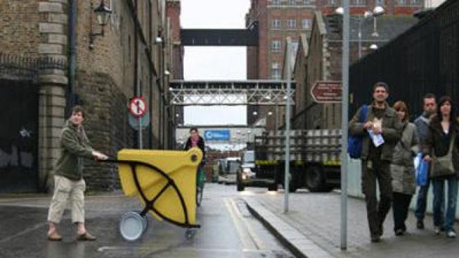 Shelter Cart untuk para tuna wisma