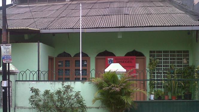 bangunan Ahmadiyah yang disegel