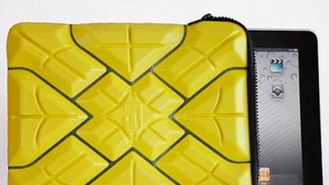 Sarung iPad ini mampu menyerap guncangan saat terbentur