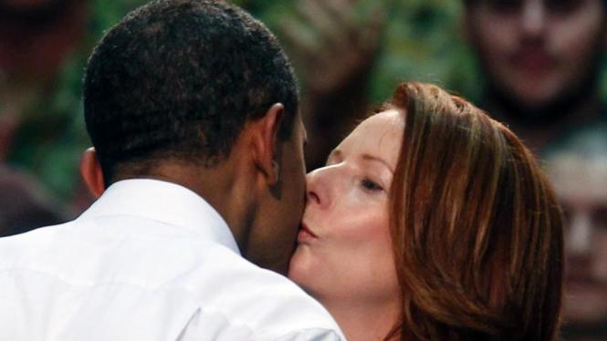 Obama-Julia Gillard