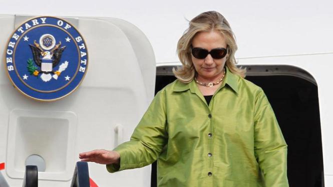 Menlu US Hillary Clinton Hadiri KTT Asean di Bali
