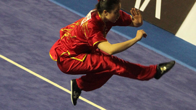 Tim Nasional Wushu Indonesia Di Sea Games 2011