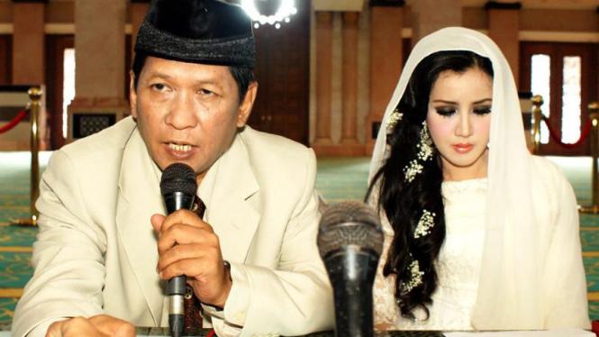 Andi Soraya Menikah Dengan Rudi Sutopo