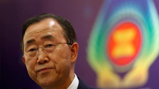 Sekjen PBB Ban Ki-moon.