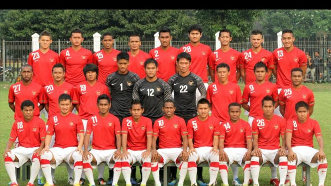 Timnas U-23 Indonesia Jalani Sesi Foto Untuk Sea Games XXVI