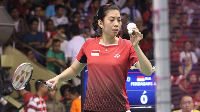 Final Bulutangkis Tunggal Puteri Sea Games XXVI