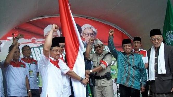 Kirab Nahdlatul Ulama (Foto: Tuji Martudji   Surabaya)