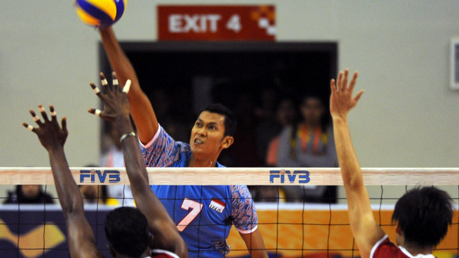 Ayip Rizal, andalan tim voli indoor putra Indonesia