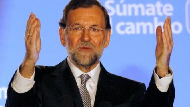 Mariano Rajoy, pemimpin Partai Rakyat Spanyol