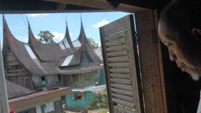 Rumah Gadang di Nagari Pariangan, asal mula masyarakat Minangkabau