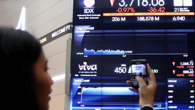 Pencatatan Perdana Saham PT Visi Media Asia Tbk (VIVA)
