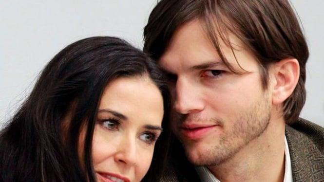 Demi Moore dan Ashton Kutcher