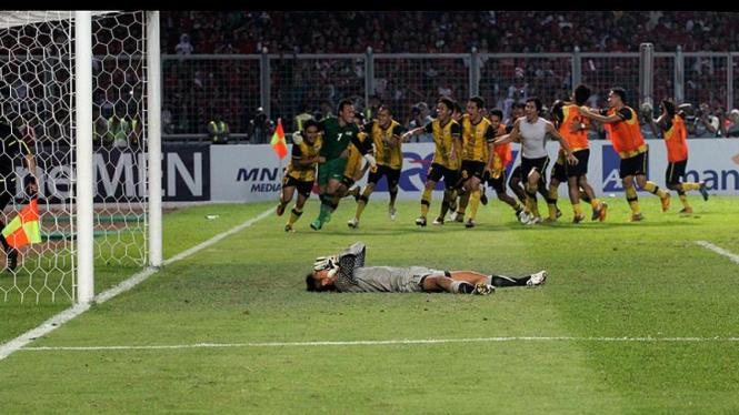 Indonesia VS Malaysia di Final Sea Games XXVI 2011