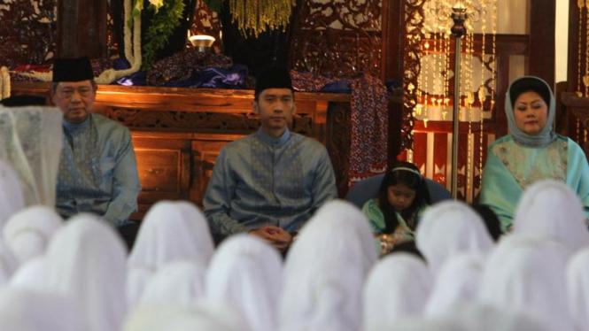 SBY gelar buka puasa bersama di kediamannya, Cikeas, Bogor. (Foto ilustrasi).